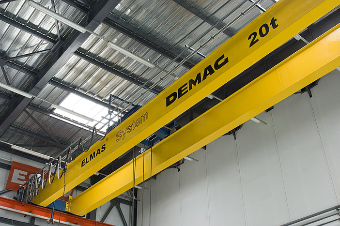 Double-girder overhead travelling crane 20 t