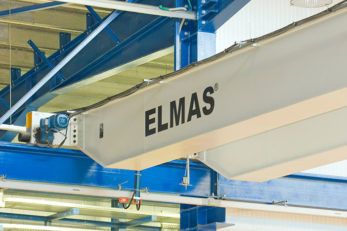 Double-girder overhead travelling crane 6,3 t – System DEMAG